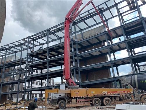 广南县桃源完全中学重钢建筑在建项目