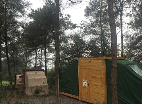 钢结构木屋