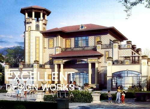 三层钢结构别墅