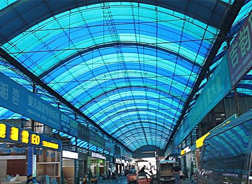 重钢项目案例:重庆光能市场